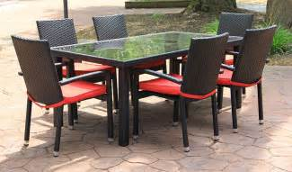 patio wicker patio dining set home interior design