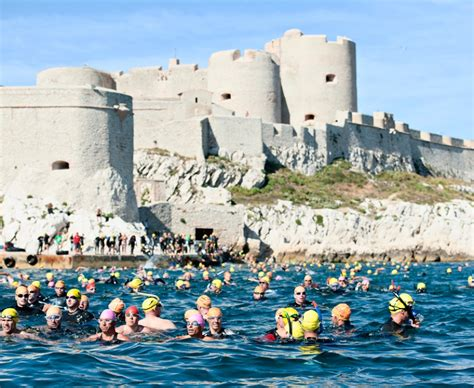 slip on a swimsuit and join in the monte cristo challenge in marseille cote magazine le