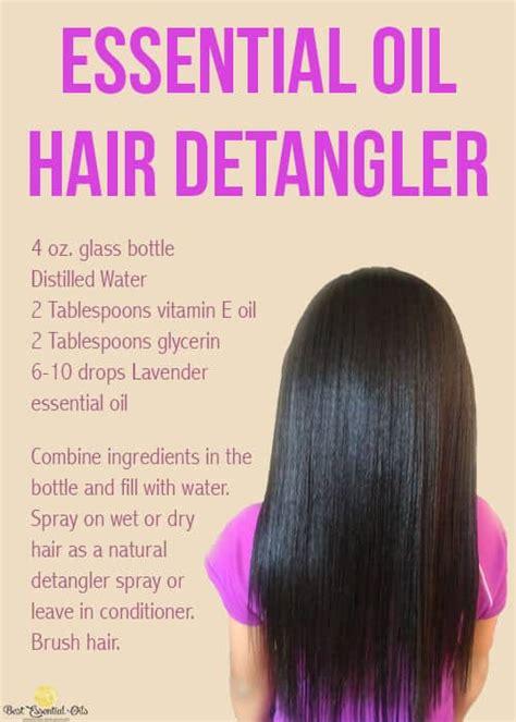 Amazing Hair Detangler Spray Recipes That Will Make