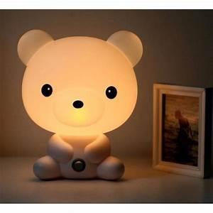 Lampe De Chevet Garçon : lampe enfant lampe chevet lampe table lampe nuit lampe r veil en forme de ourson achat vente ~ Teatrodelosmanantiales.com Idées de Décoration