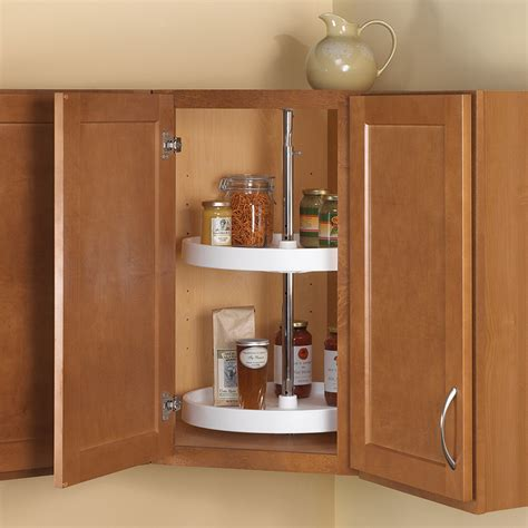 home depot unfinished cabinets lazy susan shop knape vogt 2 tier plastic circle cabinet lazy