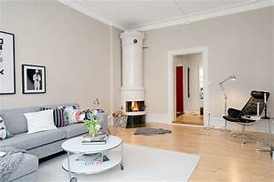 Scandinavian apartment with cream walls - 2 - Modern Home