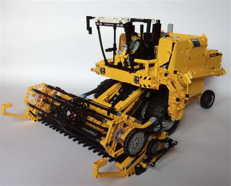 Lego Technic Combine by Tractor The Lego Car
