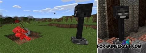 wither turrets mod mcpe