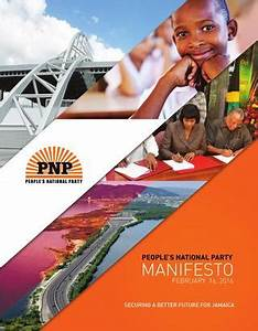 PNP Manifesto 2016 by The People's National Party - Issuu
