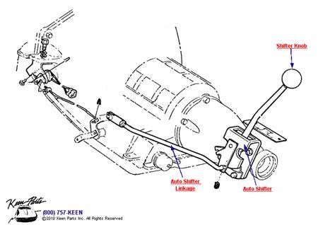 Corvette Automatic Transmission Parts
