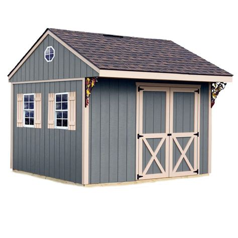 Home Depot Storage Sheds Kits by Best Barns Sheds Storage Northwood 10 Ft X 10 Ft Wood