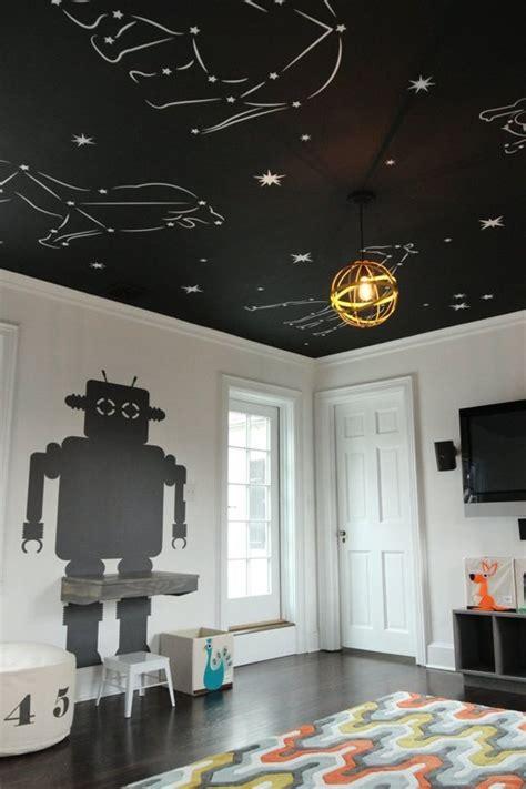 chambre ciel étoilé un plafond plein d 39 étoiles dans une chambre enfant