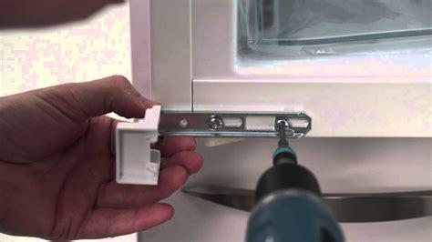reglage porte de cuisine vidéo intégrables passage d 39 un système à glissières vers