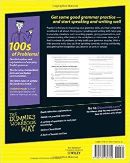 english grammar workbook  dummies geraldine woods