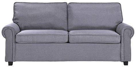 canapé 3 places tissu gris canape convertible tissu gris maison design modanes com