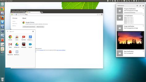 google chrome stable   linux updated  aura ui