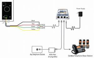 Door Phone Intercom That Connects To Home Phones