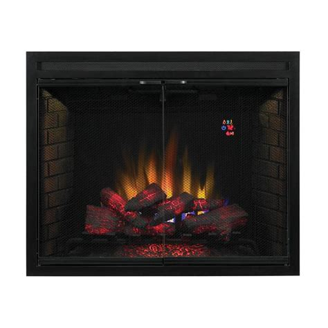 fireplace inserts electric spectrafire 39 in traditional built in electric fireplace