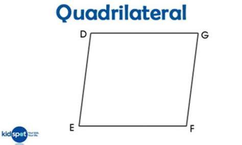 shapes for kids quadrilaterals kidspot