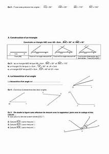 Controle Technique Les Angles : angles 6 me g om trie exercices contr le math matiques coll ge pass education ~ Gottalentnigeria.com Avis de Voitures