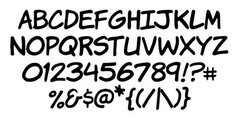 lettering fonts free 7 awesome free comic lettering fonts for use 92962