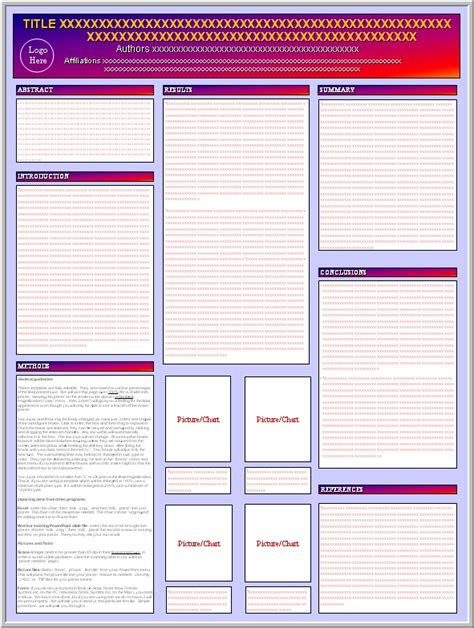 Academic Poster Template Academic Poster Template Free Free Scientific Poster