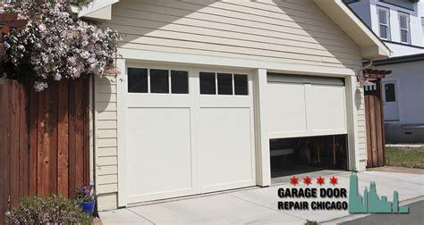 garage door repair chicago why you should never let your garage door stay open