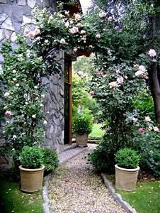 Gartengestaltung Mit Steinen : gartengestaltung mit kies und steinen rosen pflank bel fu weg kiesgarten pinterest gardens ~ Watch28wear.com Haus und Dekorationen