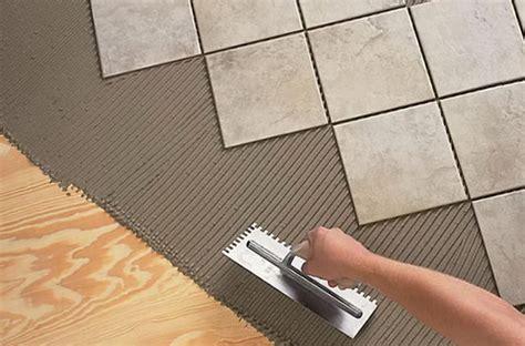 installing tile floors  walls step  step tile