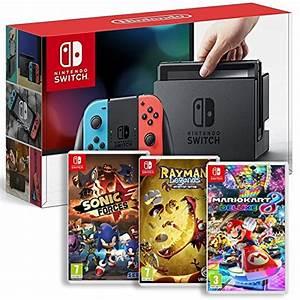 Mario Kart Switch Occasion : console nintendo switch neon rayman legends sonic ~ Melissatoandfro.com Idées de Décoration