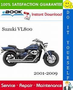 Suzuki Vl800 Motorcycle Service Repair Manual 2001