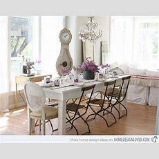 35+ Beautiful Shabby Chic Dining Room Decoration Ideas