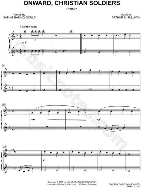 Onward Christian Soldiers Sheet Music