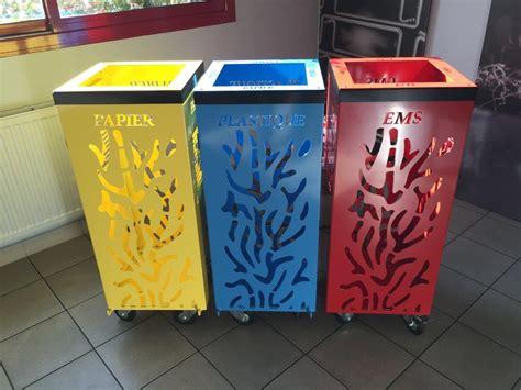 poubelle de cuisine design poubelle cuisine tri selectif design ciabiz com
