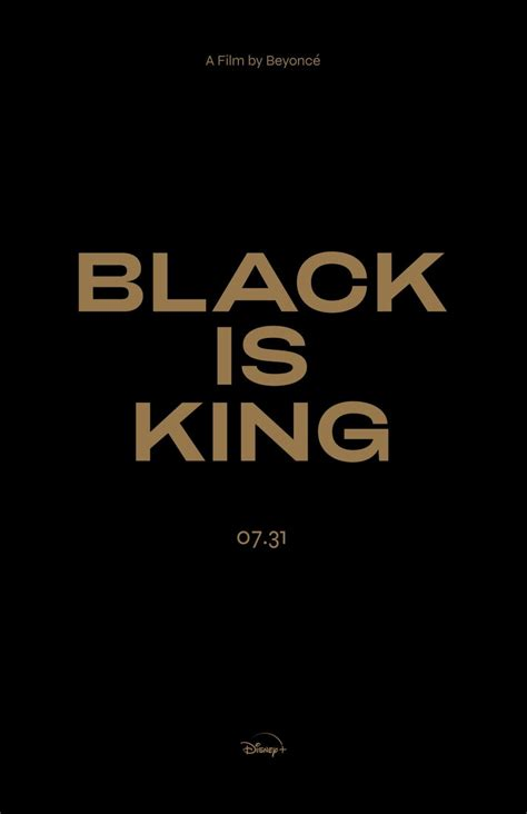 Beyoncé's Black Is King Visual Album Stream On Disney+ On ...