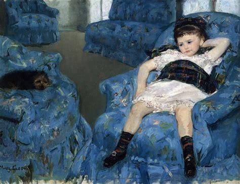 The Blue Room By Cassatt, Mary