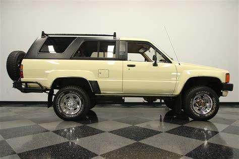 Toyota Sr5 by 1985 Toyota 4runner Sr5 For Sale 78577 Mcg