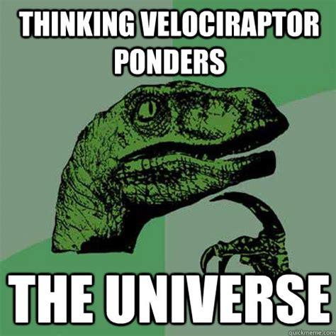 Velociraptor Meme - thinking raptor meme related keywords thinking raptor meme long tail keywords keywordsking