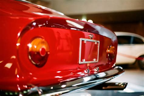 Ferrari boano/410 taillight lens set (4 pieces) 2 all red tail, 2 inner clear diffuser assembled. 1963 Ferrari 250GT Lusso Berlinetta on Flickr. | Ferrari, Time wasting, Tail light