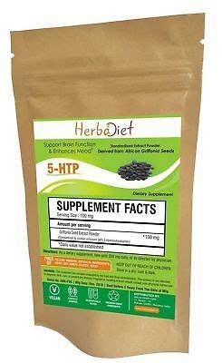 htp powder griffonia seed mood enhancer anti
