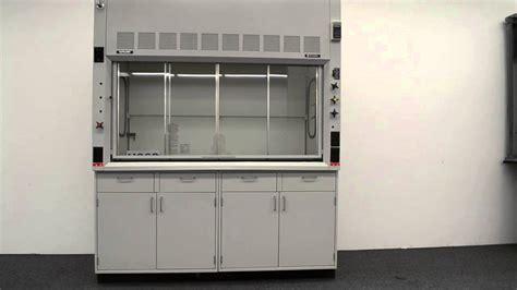 fume hood base cabinet 6 39 fisher hamilton safeaire laboratory fume hood w base