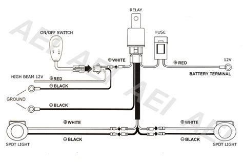 ipf lights wiring diagram 25 wiring diagram images
