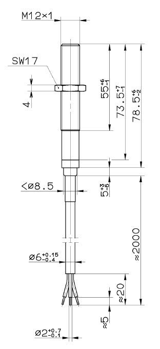 Proximity Switch - Parts Wabco