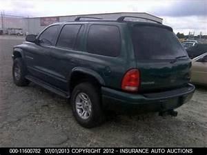 Find Used 2001 Dodge Durango Sport Utility 4-door 5 9l    Mechanics Special
