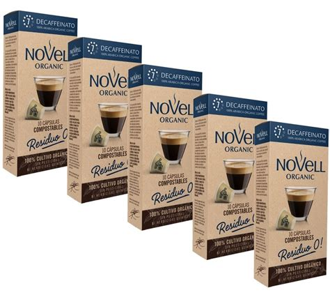 We offer a range of fairtrade and organic coffee pods 100% compatible with nespresso. Novell Organic Coffee Pods Decaffeinato Compostable ...