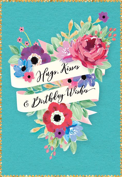vintage echo birthday card   island