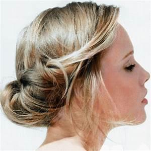 Chignon Cheveux Mi Long : chignon cheveux mi long d grad ~ Melissatoandfro.com Idées de Décoration