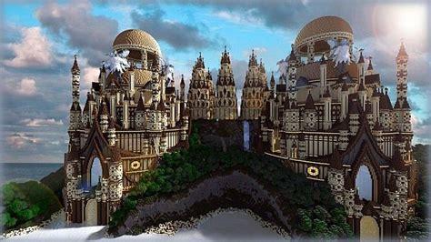 tropical sandstone castle minecraft build ideas