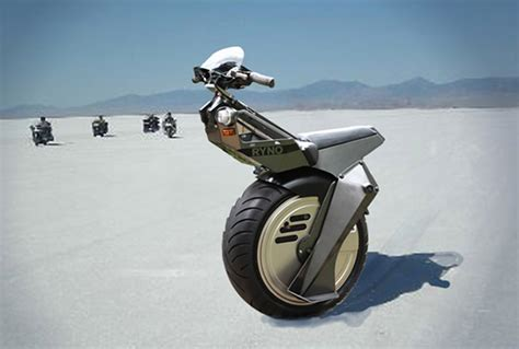 The Incredible One Wheel Electric Scooter By Ryno Motors™