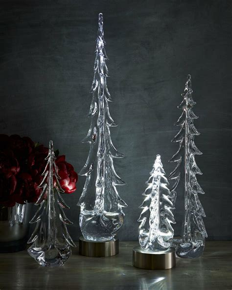 wwwsimon pierce xmas things simon pearce evergreen glass trees 20 quot evergreen glass tree only ebay