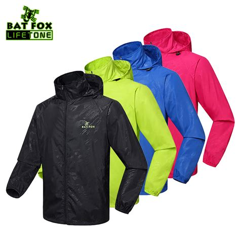 bicycle raincoat batfox men women bike raincoat windproof waterproof