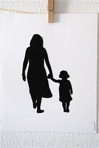 mom and child Silhouette | Art | Pinterest | Mom, Holding ...