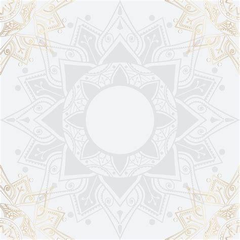 premium vector  eid mubarak lotus background