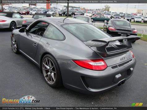 porsche gt3 gray 2010 porsche 911 gt3 meteor grey metallic black photo 9